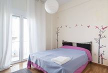 Dionysus Loft / Location: Monis Prodromou 14, Athens. Furnished apartments for short or longer stay in Athens. Book online at www.athensbnb.net