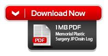 Plastic Surgery Drain Log Care