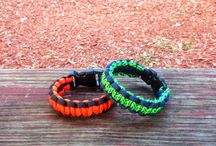 Paracord Survival Bracelets /  Type III 550 Paracord made in the USA