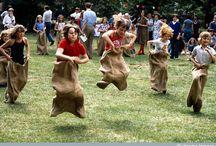 Retro picnic party