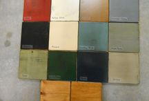 Colonial Paint Samples