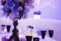 Wedding Flowers / flowers for a royal purple and light blue wedding  / by Kristin Lewis-Whitson