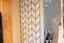 Decorative wall finishes