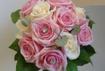 Blommor / brudsbukett