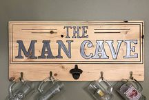 The Man Cave / The man cave is a place where a man can be a man.