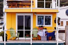 houseboat living / by happi souls
