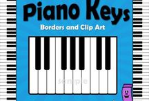 Music Clip Art / Clip art for music teachers and music-themed projects.