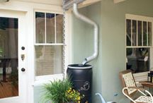 Gutter Diverter / Offset. The offset diverter allows you to place the rain barrel off to the right or left of the downspout when shrubbery or landscaping material are in the ...