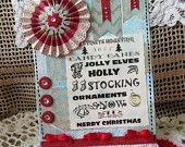 ETSY SHOP - Mine / I have gift items in my Etsy shop, also vintage fabrics, and handmade paper flowers and mini albums.
