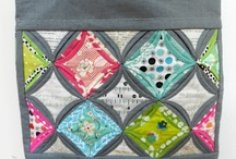 bags - patchwork/quilted / by The Crafter's Apprentice