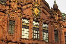 My trips - Heidelberg, DE / Scenes of my trip to Heidelberg, Germany.