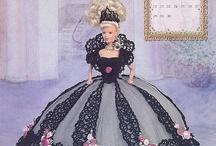 Gorgett Barbie crochet