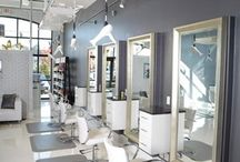 """Beauty salon / """"A woman who cuts her hair is about to change her life."""" ~Coco Chanel~"""