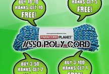 Paracord Deals / Devoted to our sales on Paracord Planet products / by Paracord Planet