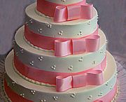 Wedding cakes and acess. / by Teresa Parsons