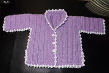 vestiti ad uncinetto  x baby