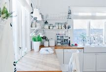 Kitchen and dine / Kitchen renovation ideas. Looking for light, airy, bright