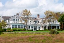 Dream Homes & Other Trappings / My dream homes ... Nantucket Shingle? Victorian? Bungalow? Beach Cottage? Carriage House? Farmhouse?    I love them all! ... Definitely ocean-front ... perhaps a compound so I can decorate endlessly!