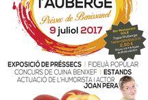 Flyers Bon Dia Tarragona / Foodfestivals, muziekfestivals, dansfeestjes, festa majors, historische feesten, wanneer is wat in de Catalaanse provincie Tarragona/