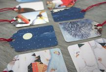 Postcards, diy, upcycle and reuse