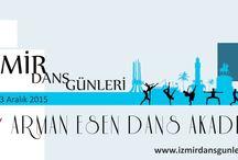 İzmir Dance Days /  Tüm İzmiri 6 ve 13 Aralık 2015 tarihinde dansa davet ediyoruz. Üyelerimize, kulüp sporcularımıza ve tüm İzmir halkına ayrı ayrı hazırlanılmış programlarımız ile seviyenize uygun ve özel konseptli dans dolu pazarlar sizi bekliyor.