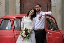 Romantic vintage styled shoot in Italy