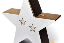 Mariage Etoile - Star theme wedding / Accessoires pour mariage thème étoile Star wedding deco / by Artesa Créations
