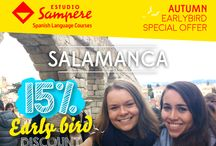 SPECIAL OFFERS + NEWS / Don't miss out on Estudio Sampere's special offers and other important updates. :)