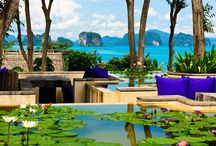Six Senses Yao Noi, Thailand / Six Senses Yao Noi is a stunning luxury resort that provides those guests lucky enough to holiday here with an experience that will exceed all expectations.  Spacious individual pool villas are scattered hillside affording privacy and elevated views.  Relaxing, decadent and tranquil – this is a simply beautiful resort!