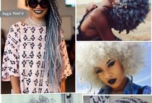 #Afro/Cachos _* / Muitos cachos e afro pra vc se inspirar!