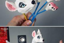 [peluches] art dolls