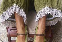 Buty, buciki w różnych wydaniach