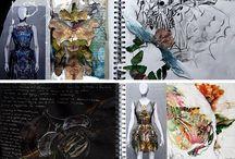 fashion sketchbooks