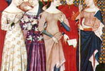 XIV wiek stroje średniowieczne