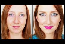 makeup for dummies / Because, I have no idea what I'm doing.