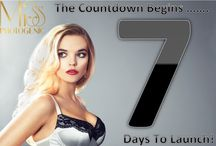 Countdown to LAUNCH! / We are so excited as we COUNTDOWN on NEW YEARS DAY to the Online Boutique & Lingerie Nightwear LAUNCH of Miss Photogenic