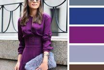 Fashion-color combination_Одежда.цветовые сочетания / Как правильно сочетать цвета в одежде