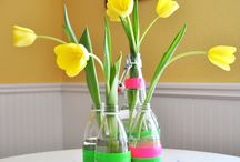 Duck Tape, Spring & Easter Designs / #DuckBrand and SocialSpark team up to bring you creative ways to use duct tape!