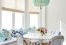 Dining Room / This board features colorful, pattern-rich, chinoiserie-inspired, bold, wallpapered dining rooms.