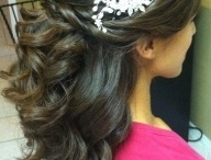 Wedding hair and make up / How I would like my face and hair to look like on my big day