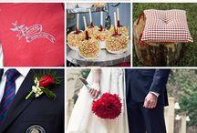 Wedding Colour ( Red, Navy, White )