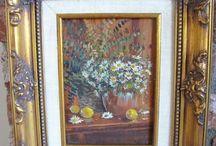Art - Fine / Vintage, antique and collectible Fine Art for sale.  / by The Vintage Village