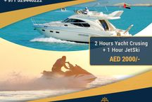 Love Yachting! / If you are living in Dubai or are here to spend your holidays - You must experience the Yacht Charter Services From Cozmo Yachts.