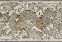 Ejder motifi - Dragons in islamic art