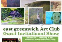 East Greenwich Art Club Guest Invitational Show / January 10th through February 2nd.