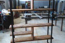 Nos meubles de style industriel, fabrication artisanale / A la demande de quelques architectes, nous avons lancé une gamme de meuble de style industriel. Bien évidemment ces meubles sont tous fabriqués artisanalement, sur demande. Nous sommes à votre disposition pour toute demande: wwww.i-lustres.com Tel: 06 26 47 27 02