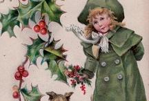 Nostalgie kerstplaatjes