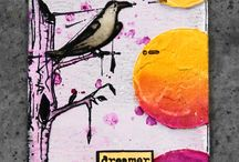 Bird cards and tags / by Debi Pursley