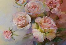 virágok müvészi