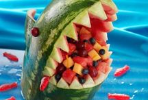 Watermelon Fun / It's summertime and what screams SUMMER!? Watermelon! Have some fun with these creative ideas.
